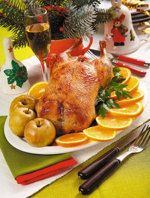 Christmas Duck Recipes.Vanderbilt Traditional Christmas Duck